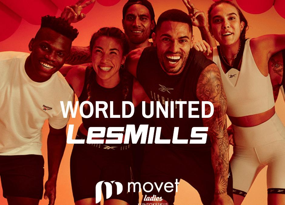 Uusien Les Mills-ohjelmien maailmanlaajuinen julkaisupäivä 19.9.